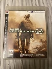 Call of Duty: Modern Warfare 2 MW2 (PlayStation 3) PS3 GAME COMPLETE w/MANUAL