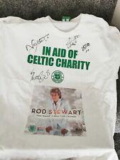 Celtic Charity Rod Stewart Training T-Shirt - Signed