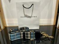 Marc Jacobs The Webbing Strap for Snapshot Tartan 100% Authentic & NEW