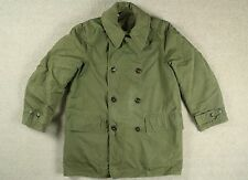 1945 WWII WW2 US ARMY COTTON OFFICERS MACKINAW JEEP COAT JACKET MILITARY 38/40