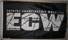 ECW Extreme Championship Wrestling 3'x5' flag banner - WCW, WWF, WWE, USA ship