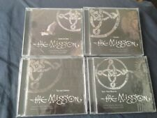 THE MISSION - LONDON SHEPHERDS BUSH EMPIRE  - 4 DAYS COMPLETE 4 CD LOT SEALED
