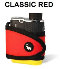 Monument Golf 1001RD Stick It Classic Series Magnetic Rangefinder Strap Red