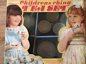 Childrens China Tea Set - 1960/70's - Boxed - Great Price for a lovely Set!