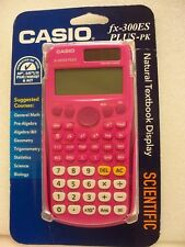 Casio, Fx-300Es Plus, Scientific Calculator, P/N: 300Pk-Bts15, Pink