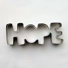 HOPE Cookie Cutter Special Word Fondant Baking Biscuit Mold