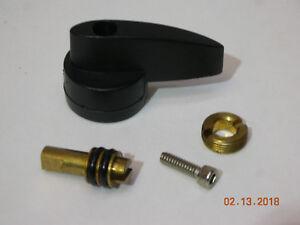 J/B Industries PR-209 Black Plastic Handle for Isolation Valve with Screw