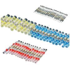 100Pcs Heat Shrink Solder Sleeve Butt Splice Wire Connector Waterproof Z7Z7 C4G8