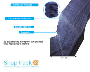 Furniture Protection Moving Blankets Removalist Pads Quilted Padded Blanket