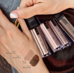 Relouis PRO Matte Satin Sparkle Liquid Eyeshadows - 15 Shades