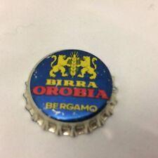 TAPPO A CORONA BIRRA OROBIA BERGAMO Kronkorken Chapas capsules crown caps