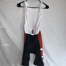 Men's Verge Classic Cycling Bib Short Size XL ~  Red White And Black