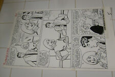 PATSY WALKER #113 ORIGINAL ART, PAGE 5, AL HARTLEY?, MARVEL LARGE ART Comic Art