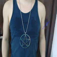 4inch Super large Star of David pentacle Evil forces pendant 36in necklace