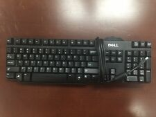 Lot of 100 Genuine Black DELL USB Wired Keyboard - L100 or SK-8115