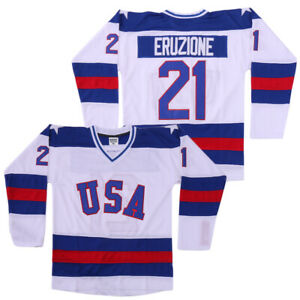 2XL Mike Eruzione 1980 Miracle On Ice USA Movie Hockey Men