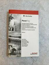 PowerFlex 4 Quick Start Manual FRN 3