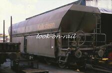 N1228 - Dia slide 35mm original Eisenbahn Holland, NS Kalksteenwagen, '80s