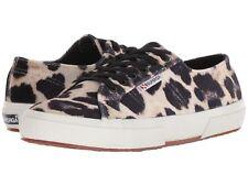 Superga Women's 2750 FANVELW Lace Up Sneakers - Leopard Print