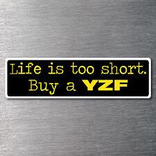 Buy a YZF sticker High quality 7year water & fade proof vinyl motor bike
