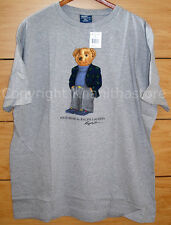 Polo Ralph Lauren Bear T- Shirt*NEW WITH TAG/Size LARGE*FINAL WEEK FOR THIS ITEM