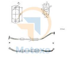 Catalytic Converter TOYOTA COROLLA 1.8i 16V 192 bhp 2ZZ-GE 11/01>