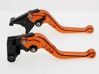 Adjustable 6 position Shorty Brake Clutch Levers For Honda CB600 HORNET 2005 06