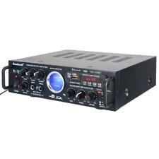 500W 110V Bluetooth Power HiFi Stereo Amplifier Home Karaoke VU Meter FM USB