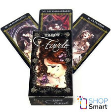 FAVOLE TAROT CARDS DECK GOTHIC ART BY VICTORIA FRANCES FOURNIER ORACLE TELLING