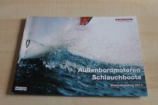 138806) Honda Marine - Außenbordmotoren - Schlauchboote - Prospekt 01/2013