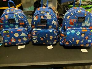 2021 Disney Parks Loungefly Mini Backpack Park Icons Attractions Choose Print
