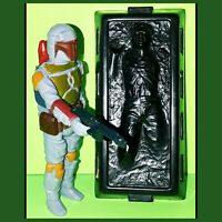 Vintage 1979 Star Wars Boba Fett Action Figure Han Solo Carbonite Lot Hong Kong