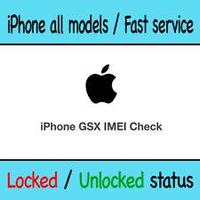 Apple Official iPhone Check SIM Lock Status / LOCKED or UNLOCKED