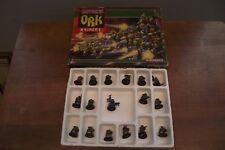 Vintage 1987 WarHammer  40K - Games Workshop Space Ork Raiders in Original Box