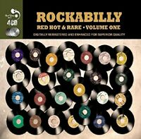 ROCKABILLY RED HOT & RARE VOL.1 -TONY CHICK, TINY TIM, JESSE STEVENS - 4 CD NEW