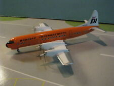 "AVIATION 200 BRANIFF ""ORANGE"" L-188 ""ELECTRA"" 1:200 SCALE DIECAST METAL MODEL"