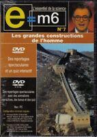 E=M6 Les grandes constructions de l'homme DVD NEUF SOUS BLISTER