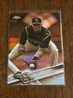 2017 Topps Chrome Baseball Sepia Refractor - DJ LeMahieu - Colorado Rockies