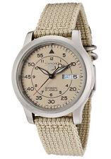 Unisex Armbanduhren mit Textilgewebe-Armband und arabischen Ziffern