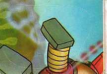 [AA] FIGURINA ATLAS UFO ROBOT-NUOVA SERIE-ANNO 1978-NUMERO 221