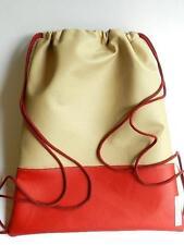 Unifarbene Damen-Beuteltaschen aus Kunstleder mit Innentasche (n)