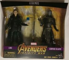 Marvel Legends Avengers Infinity War Loki & Corvus Glaive action figure 2 pack