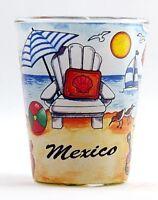 MEXICO BEACH CHAIR SHOT GLASS