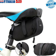 Bicycle Saddle Bag Bike Seat Storage Cycling Rear Pouch Outdoor Waterproof AU