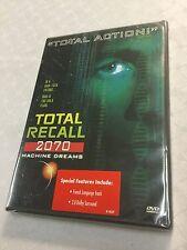 Total Recall 2070: Machine Dreams (DVD, 2000) R1 Rare OOP NEW SEALED 90s Sci-Fi