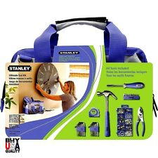 Womans Home Tool Set Stanley Repair Kit Case Storage Bag Organizer Limited E New