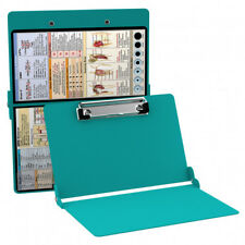 WhiteCoat Clipboard Nursing Folding Aluminum Nurse Student NEW Teal