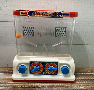 Vintage 1977 Tomy Water Game Wonderful Waterful Basketball Toy Japan 2 Player