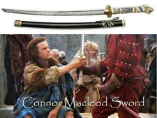 "HIGHLANDER SWORD 43"" HANDMADE FULL TANG CONNOR MACLEOD DRAGON HEAD HANDLE NEW"