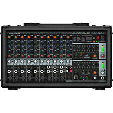 Behringer PMP2000D 14-Channel Professional Microphone Mixer